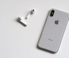 En smarttelefon.